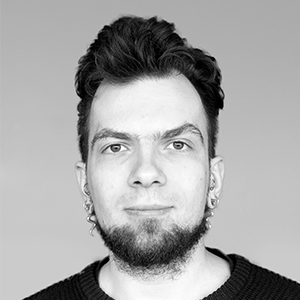 Headshot of Vytautas Minelga - software developer at YellowDog