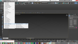Cloud rendering 3ds max early step in process