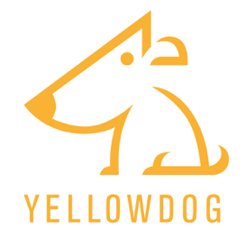 YellowDog Logo Orange on white