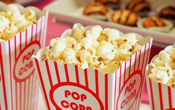 Carton of popcorn. Click the link or read on to find out about the blockbuesters ready to hit the big screen in the summer of 2018